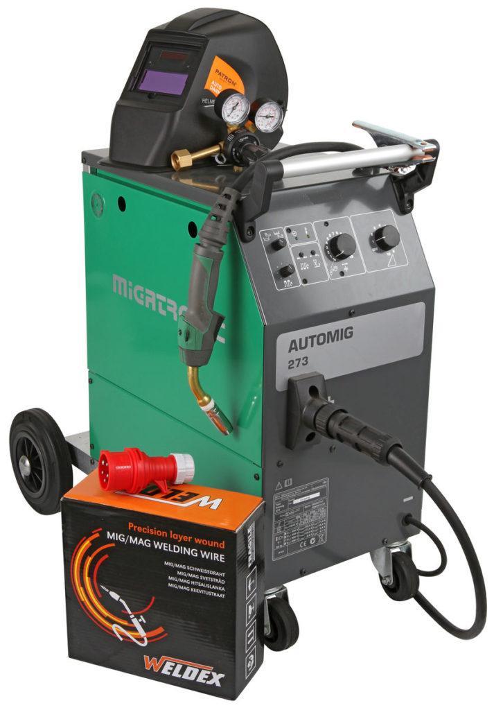 Migatronic Automig 273 MPS-4TF hitsaus paketti
