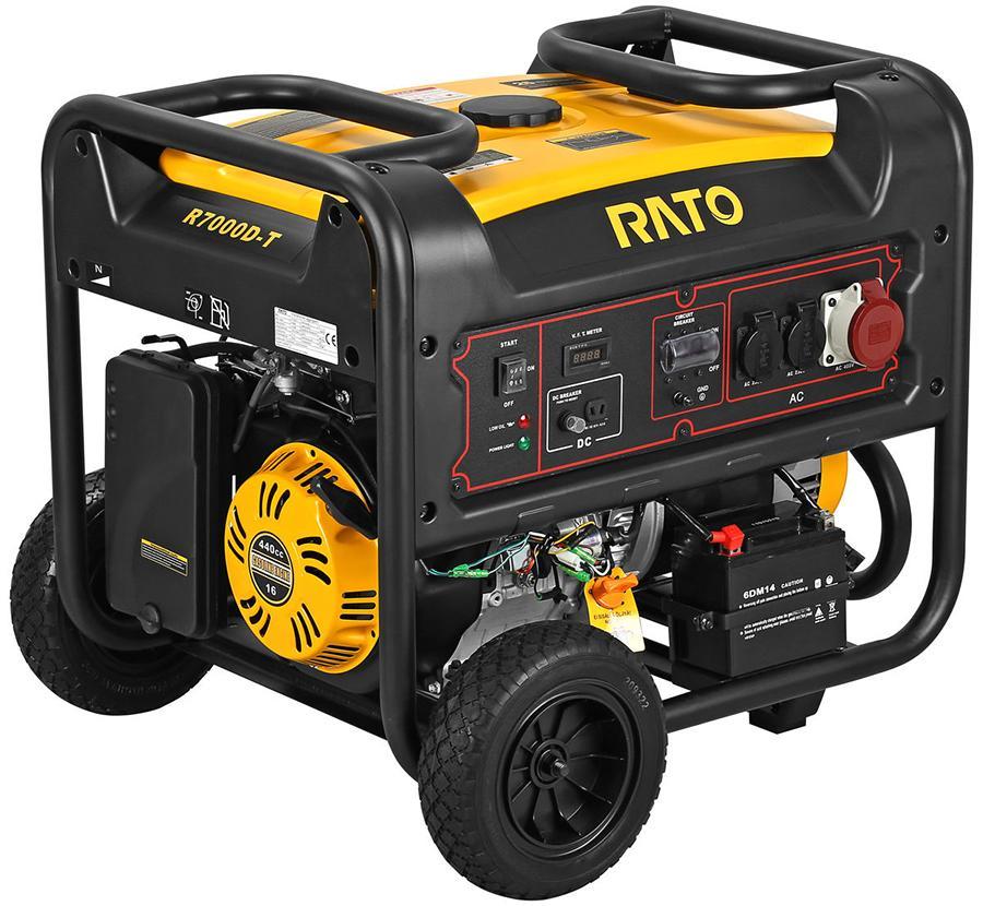 Rato R7000D 6,8 kW aggregaatti