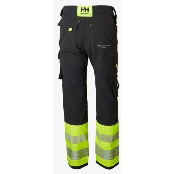 Helly Hansen ICU stretch RT housut keltainen