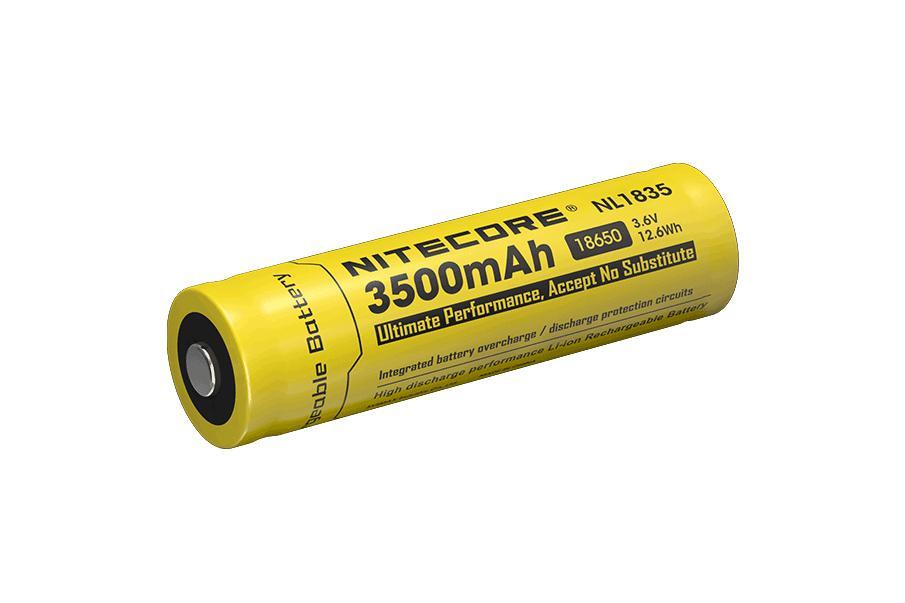 Nitecore NL1835 3500 mAh 18650 akku