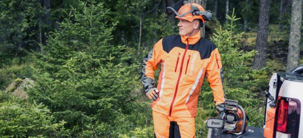 Husqvarna metsätyötakit