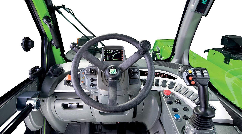 Merlo Turbofarmer 33.7, 33.9, 35.7 ohjaamo