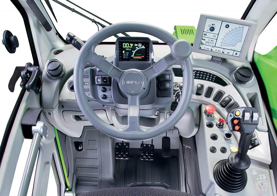 Merlo Turbofarmer 33.7, 33.9, ja 35.7 premium ohjaamo