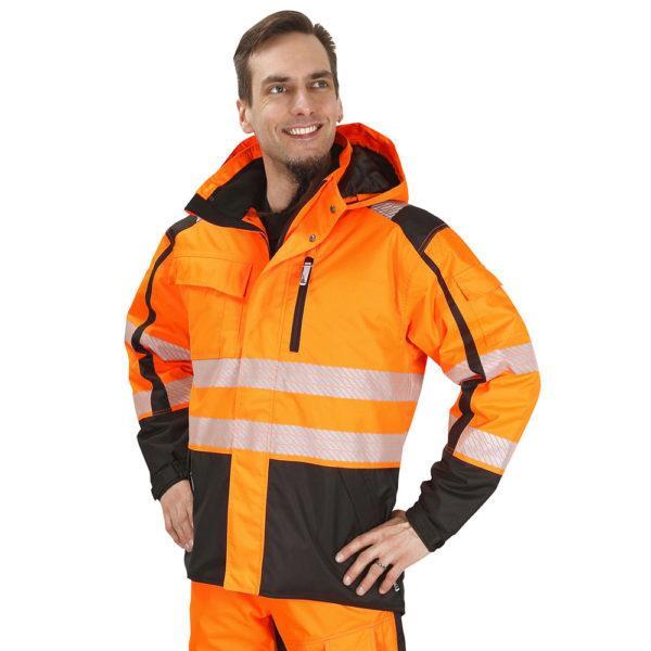 Patron Adamiitti talvitakki oranssi