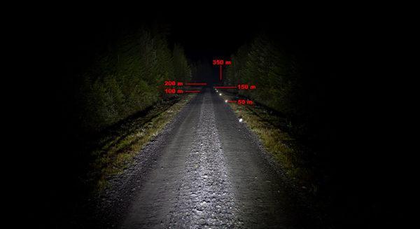 LED kaukovalo Regem 14