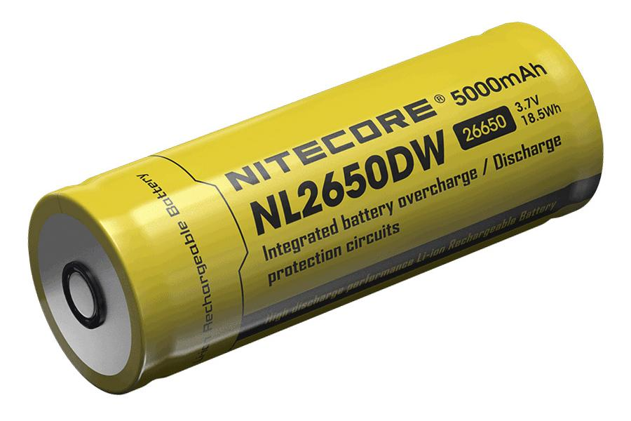 Nitecore NL2650DW 5000mAh 26650 akku