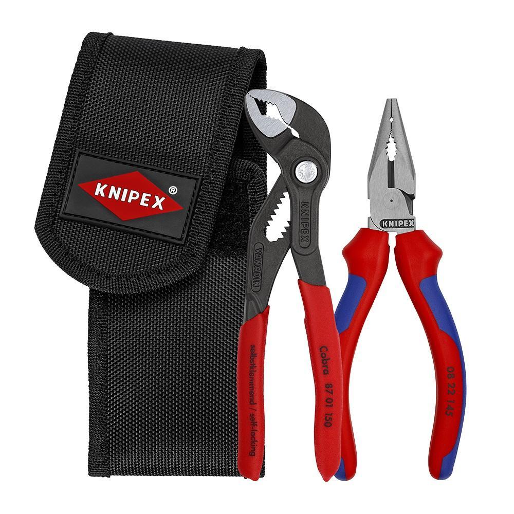 Knipex minipihtisarja vyökotelossa