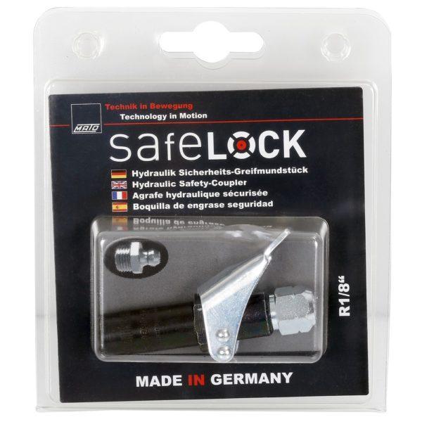 Mato kaulanippasuutin lukittuva safe lock