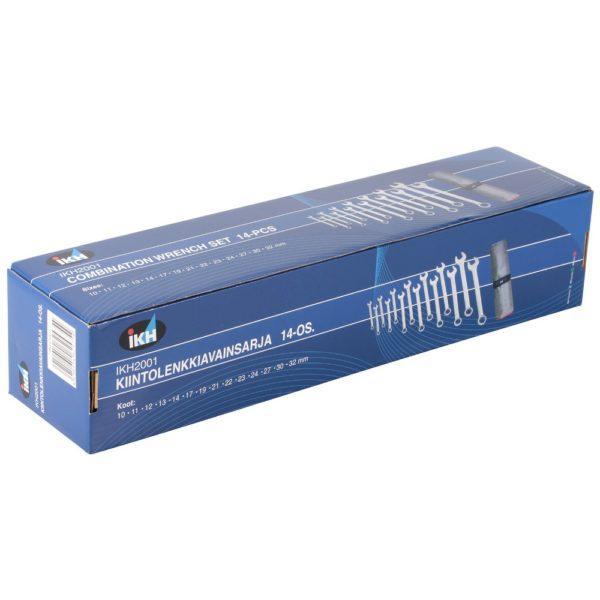 Kiintolenkkiavainsarja 14 osaa 10-32 mm IKH2001