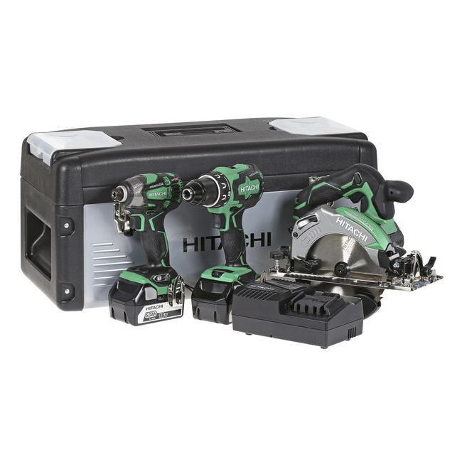 Hitachi akkukonesarja 18V 5,0Ah 3 konetta timpurin combo