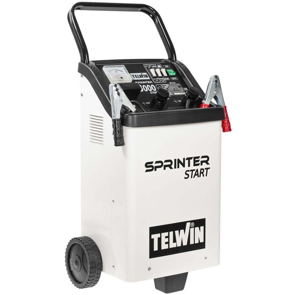 Telwin Sprinter 3000 akkulaturi/apukäynnistin 12/24V 300A