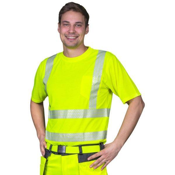 Patron Boori t-paita keltainen EN20471 lk2