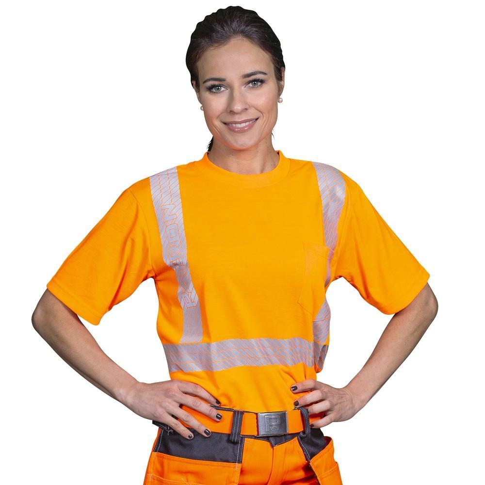 Patron Boori t-paita oranssi EN 20471 lk.2