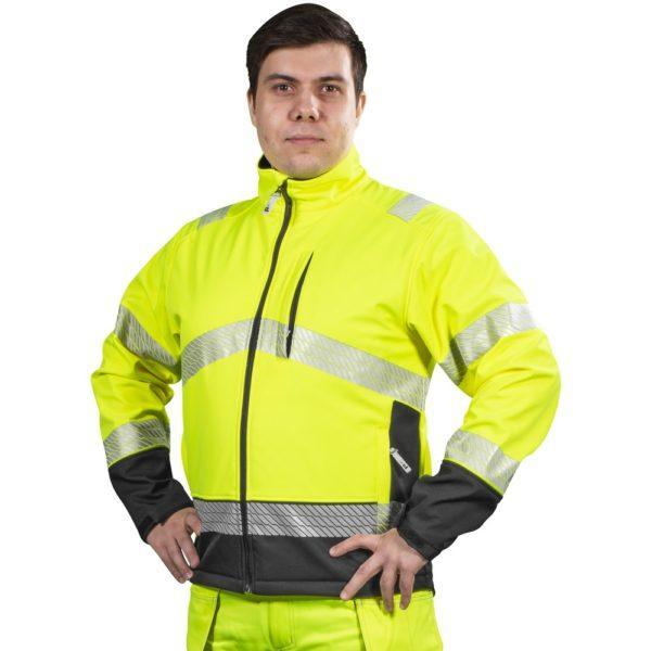 Patron Randal softshell takki keltainen