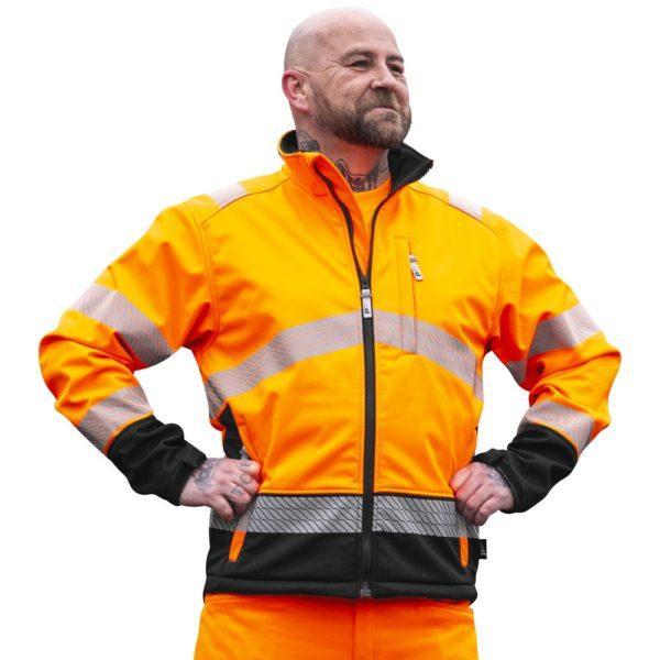 Patron Randal softshell takki oranssi