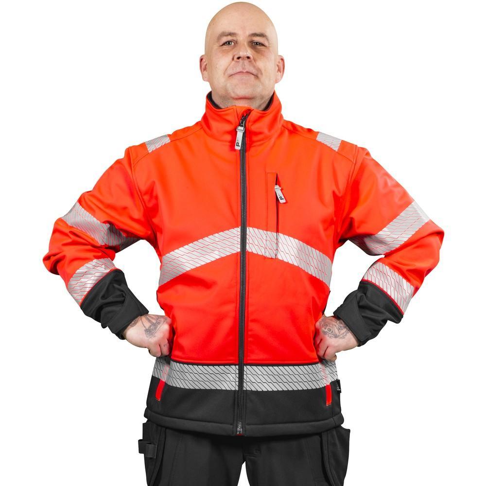 Patron Randal softshell takki punainen