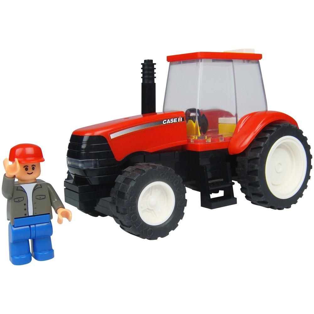 Case IH traktori palikkarakennussarja