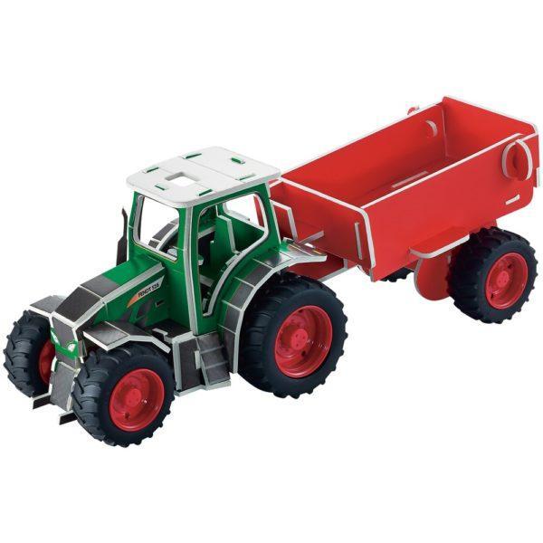 Fendt Vario 518 3D palapeli leikkitraktori