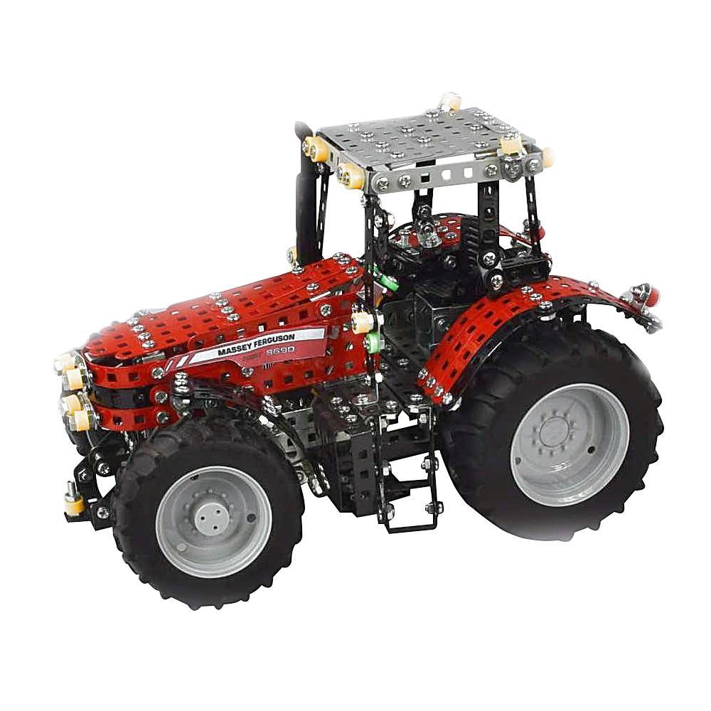 Massey Ferguson 8690 koottava leikkitraktori 1:16