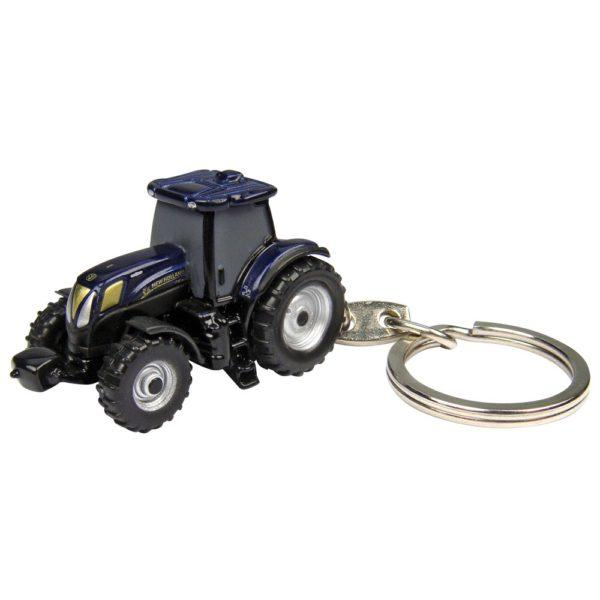 New Holland T6.160 Golden Jubilee pienoismalli avaimenperä