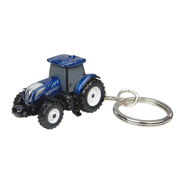 New Holland T7.225 Blue Power pienoismalli avaimenperä