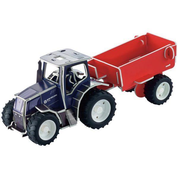 New Holland T7.315 3D palapeli leikkitraktori