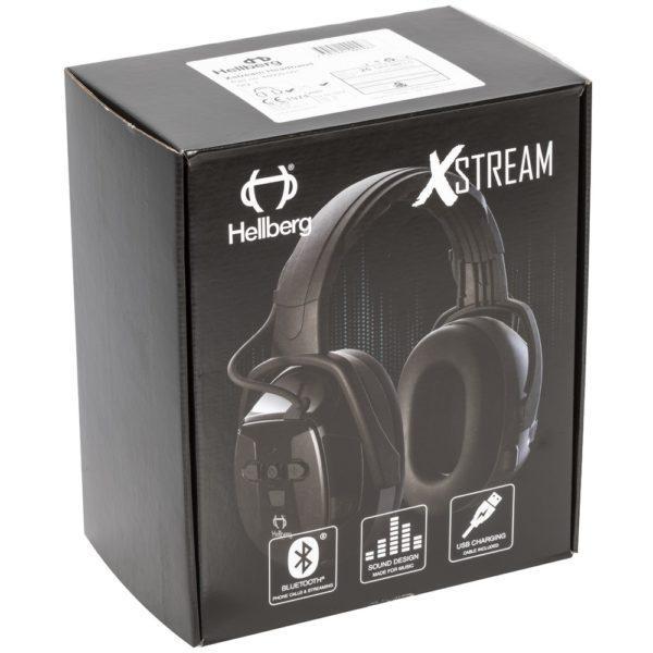 Hellberg Xstream Bluetooth kuulonsuojaimet SNR 29