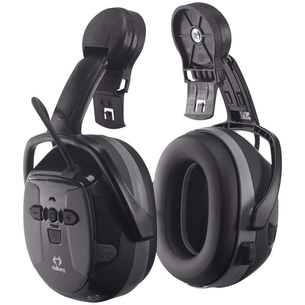 Hellberg Xstream Bluetooth SNR 29 kuulonsuojaimet kypärämalli