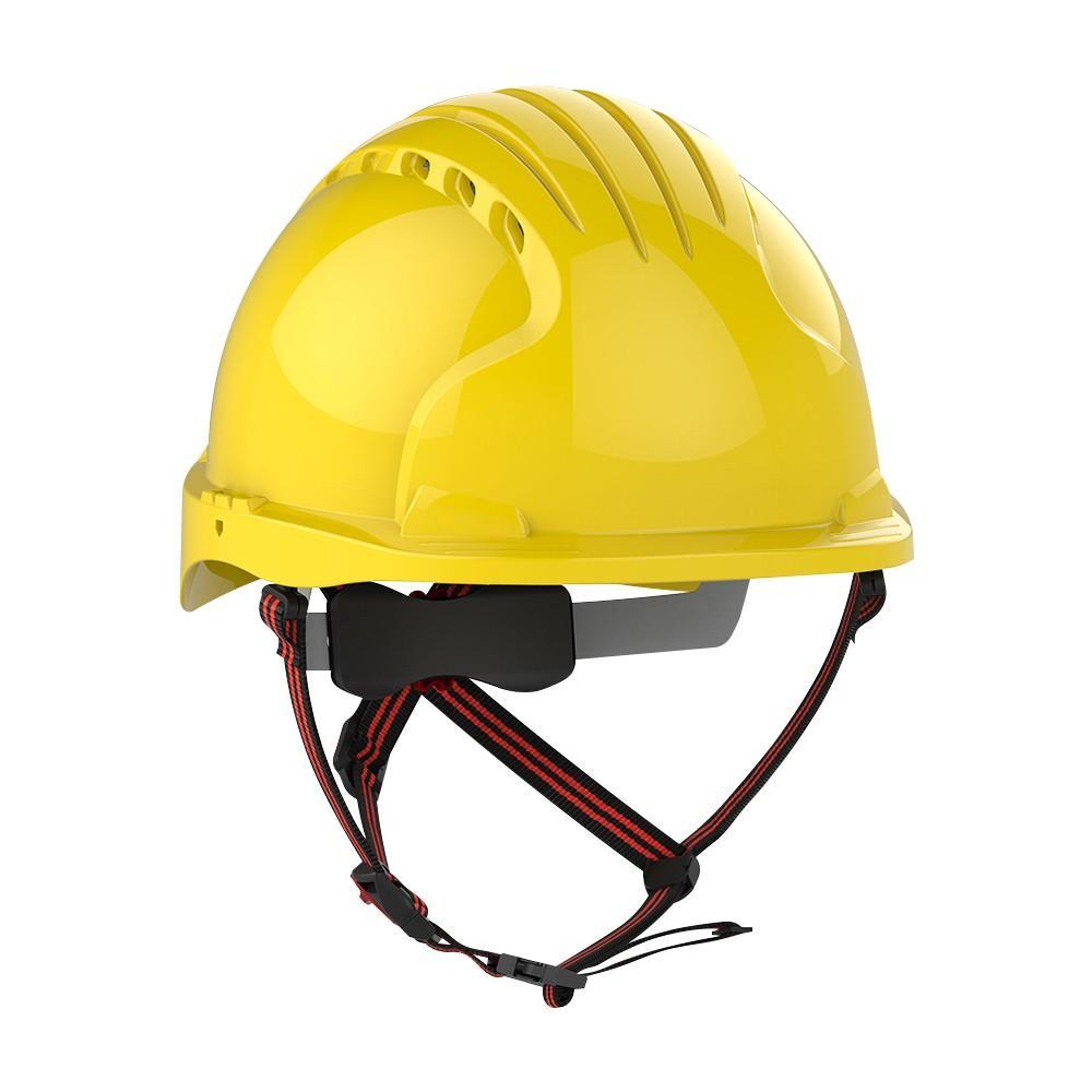 JSP Evo 5 Dualswitch keltainen suojakypärä