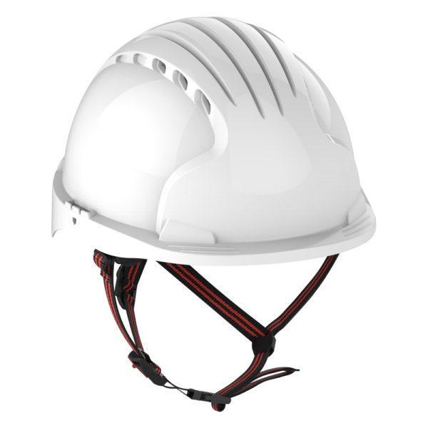 JSP Evo 5 Dualswitch valkoinen suojakypärä