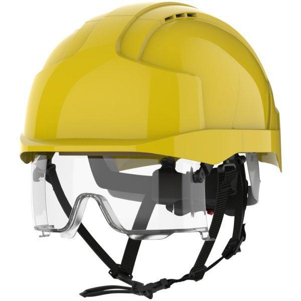 JSP Evo Vistalens keltainen suojakypärä