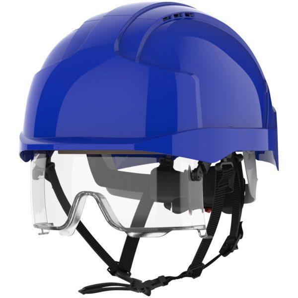 JSP Evo Vistalens sininen suojakypärä