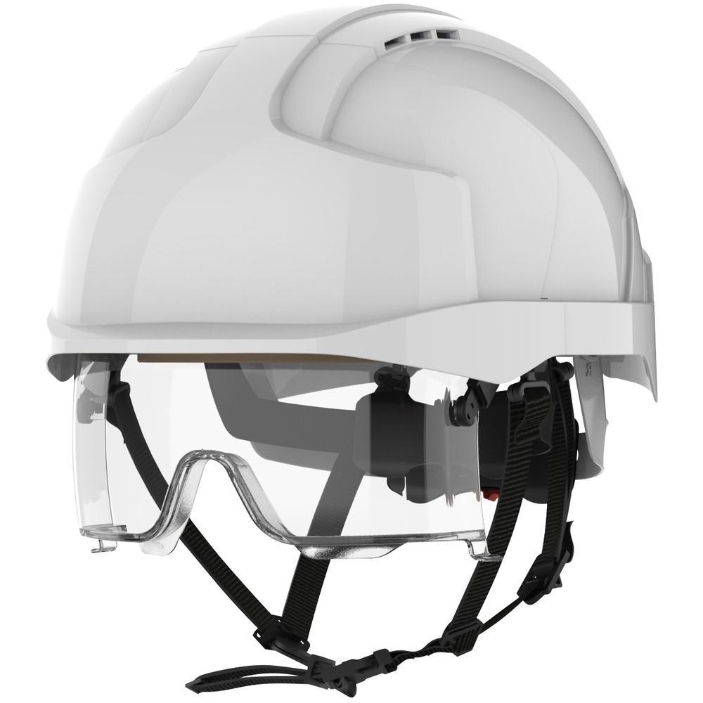 JSP Evo Vistalens valkoinen suojakypärä