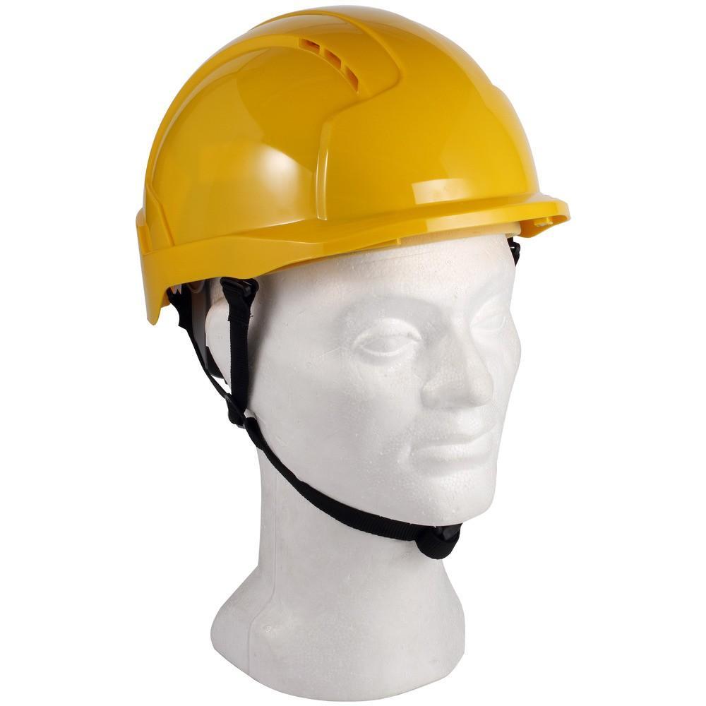 JSP Linesman Evo Lite keltainen suojakypärä