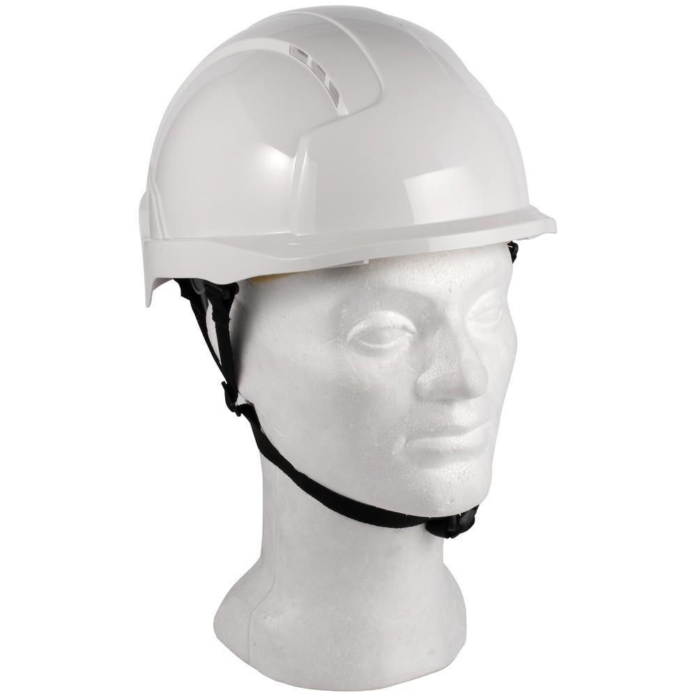 JSP Linesman Evo Lite valkoinen suojakypärä