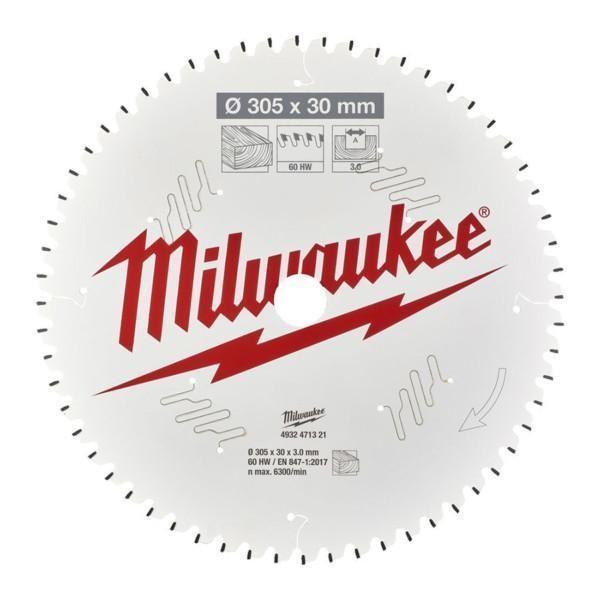 Milwaukee CSB MS W 305 x 30 x 3,0 x 60ATB neg pyörösahanterä