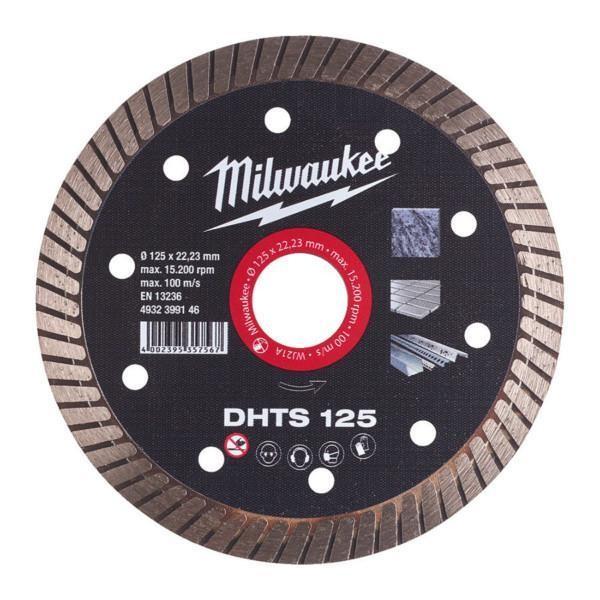 Milwaukee DHTS 125 x 22,2 timanttilaikka