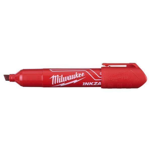 Milwaukee Inkzall leveäkärkinen huopakynä punainen