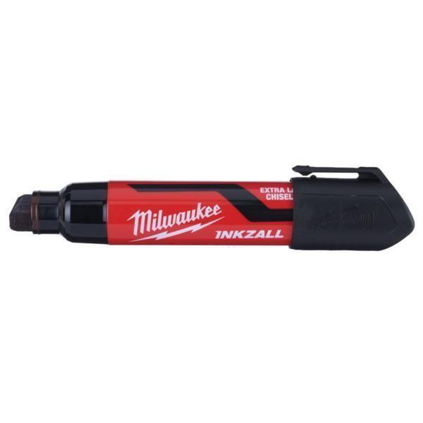 Milwaukee Inkzall XL leveäkärkinen huopakynä musta