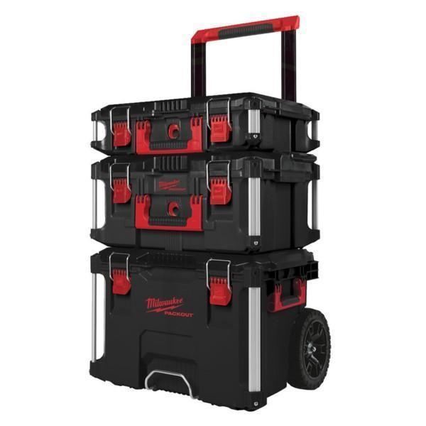 Milwaukee Packout 3-osainen työkalujen säilytysjärjestelmä