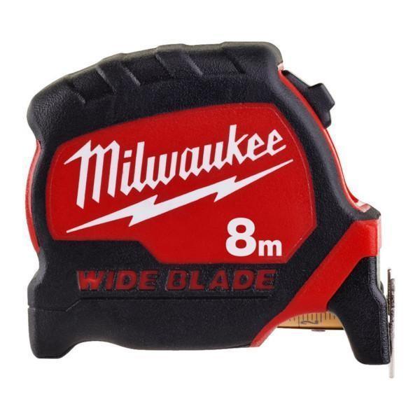 Milwaukee Premium rullamitta leveä 8 m