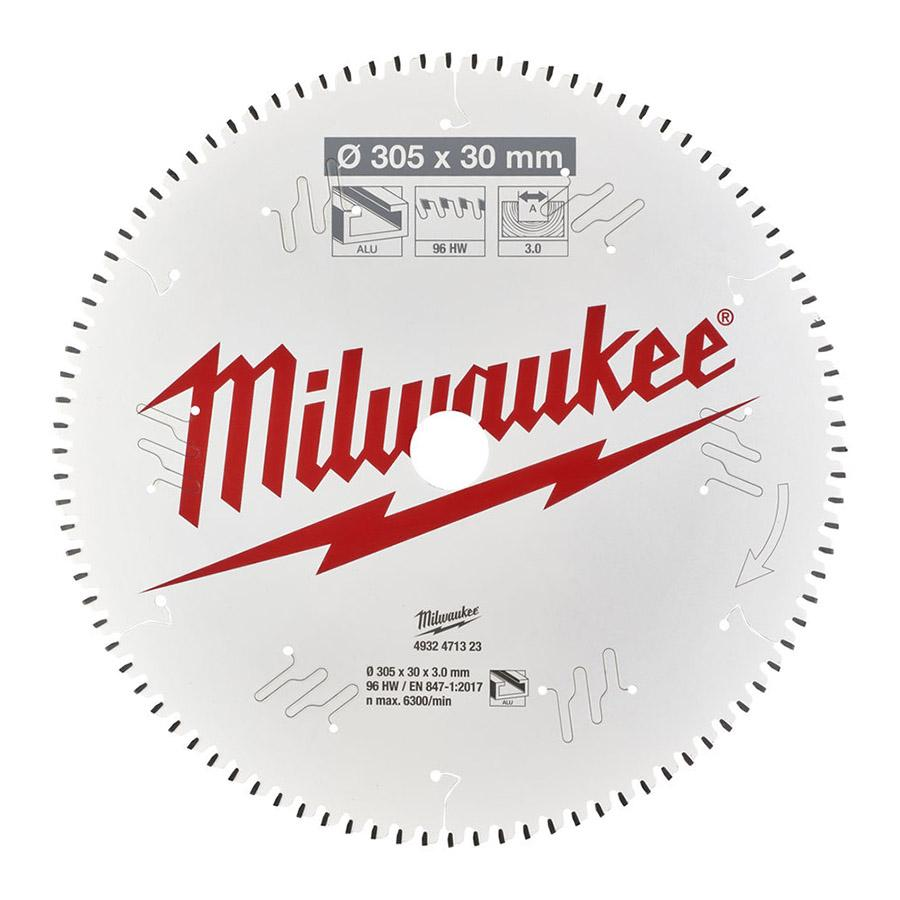 Milwaukee pyörösahanterä CSB MS ALU 305 x 30 x 3,0 x 96TF