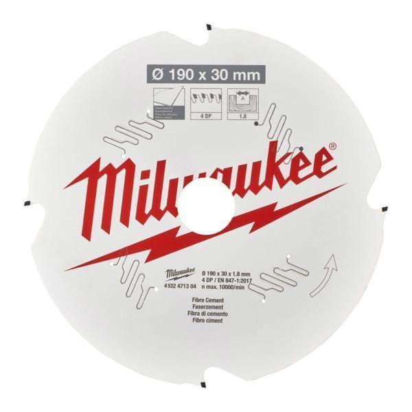 Milwaukee pyörösahanterä CSB FC190 x 30 x 1,8 x 4D