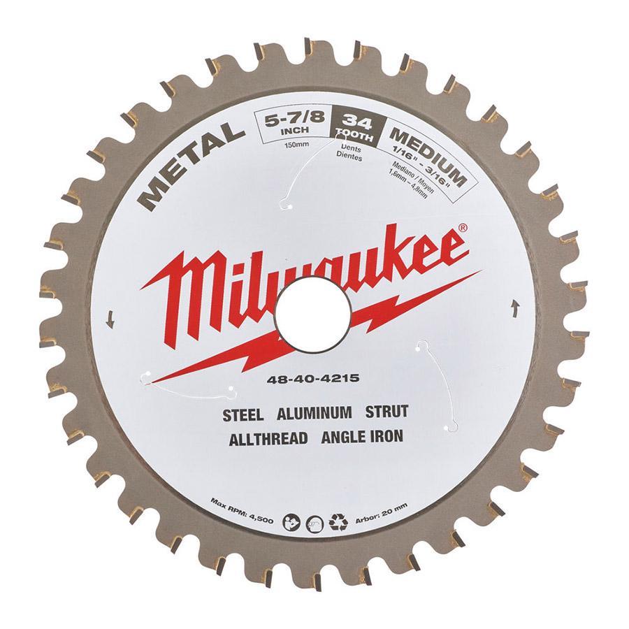 Milwaukee pyörösahanterä metallille M150 x 20 x 30T