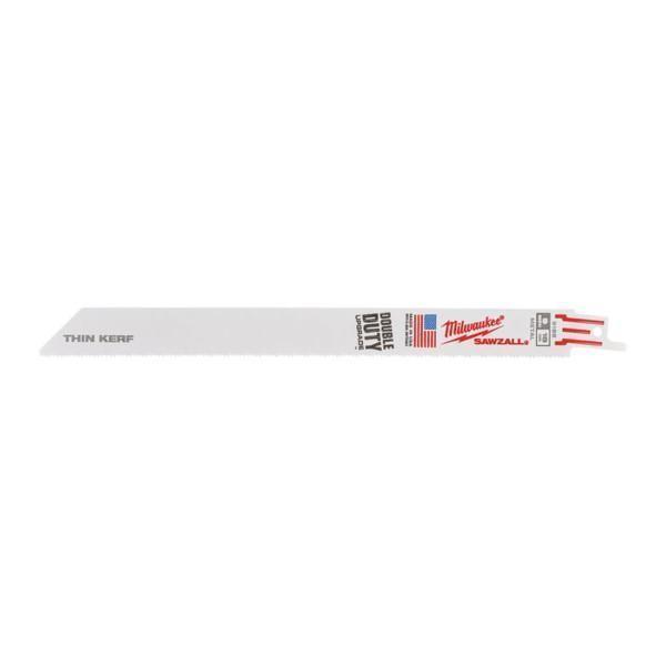 Milwaukee Thin Kerf 230 mm 18 Tpi puukkosahanterä 5kpl