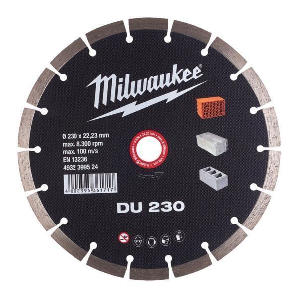 Milwaukee timanttilaikka DU 230 x 22,23